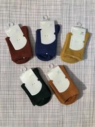 Носки для девочек Шугуан однотонные рубчик
