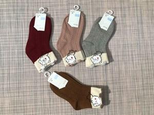Носки для девочек Шугуан ажур плотный свинка - фото 17457