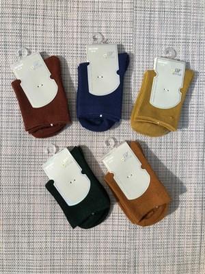 Носки для девочек Шугуан однотонные рубчик - фото 17461