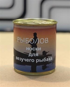 Носки в банках РЫБОЛОВ оптом - фото 17853
