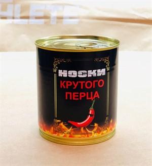 Носки в банках ДЛЯ КРУТОГО ПЕРЦА оптом - фото 17900
