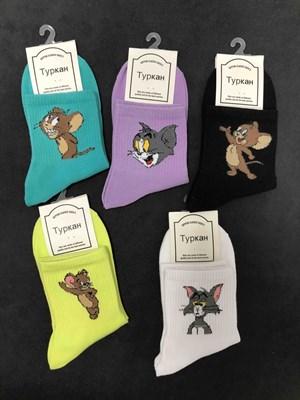 Носки с рисунками Том и Джерри - фото 18055
