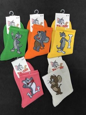 Носки с рисунками Том и Джерри Ассорти - фото 18057