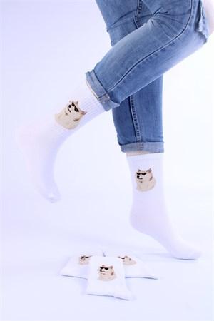 Носки с рисунками и с принтом оптом Знаменитый мем ДОГ DOG Nosi Noski - фото 18279