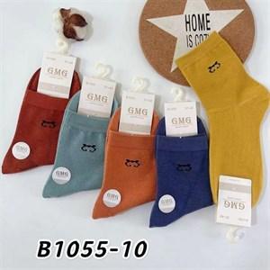 Женские носки GMG средняя длина рисунок оптом - фото 18629