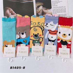 Носки с рисунками GMG высокие мультяшные мишка 1405-8 - фото 18646