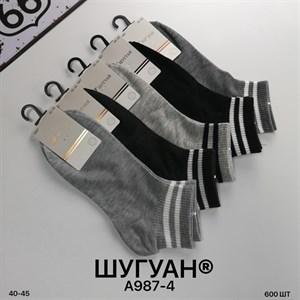Мужские носки короткие Шугуан ассорти спорт оптом 987-4 - фото 18820