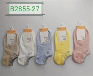 Женские носки Шугуан короткие спортивные ассорти оптом 2855-27 - фото 18888