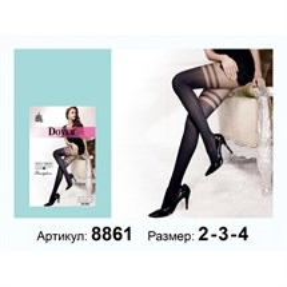 ЖЕНСКИЕ КОЛГОТКИ DOVER ИМИТАЦИЯ ЧУЛКИ АРТ-8861