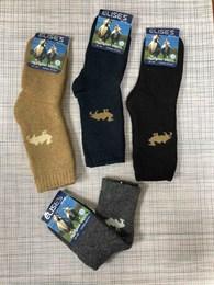 Носки для детей верблюжья шерсть с махрой