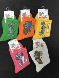 Носки с рисунками Том и Джерри Ассорти