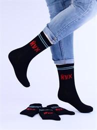 Носки с надписями оптом ЙУХ черные Nosi Noski