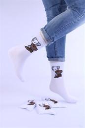 Носки с рисунками и с принтом оптом КАВС открытая попа Nosi Noski