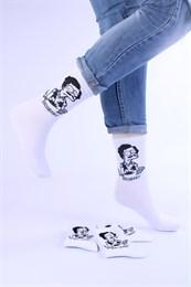 Носки с рисунками и с принтом оптом Симпсоны ЭскоБарт Nosi Noski