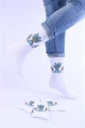 Носки с рисунками и с принтом оптом Рик и морти фак Nosi Noski