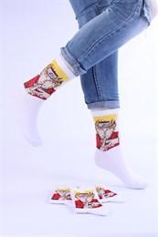 Носки с рисунками и с принтом оптом Аниме Наруто Nosi Noski