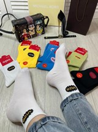 Женские носки GMG надписьVize ассорти оптом