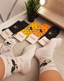 Женские носки GMG Высокие рисунки  Мики маус оптом