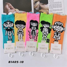 Носки с рисунками GMG высокие мультяшные 1405-10