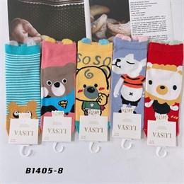 Носки с рисунками GMG высокие мультяшные мишка 1405-8