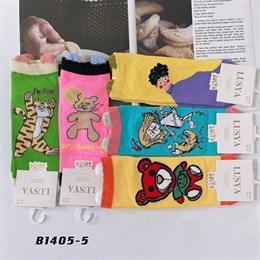 Носки с рисунками GMG высокие мультяшные абстракты 1405-5