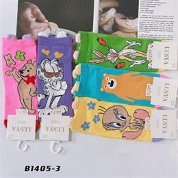 Носки с рисунками GMG высокие мультяшные абстракты 1405-3